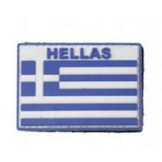 Σήμα PVC HELLAS με Velcro της VA